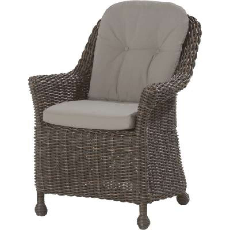 4Seasons Outdoor Madoera dining Sessel Polyrattan colonial wicker ...