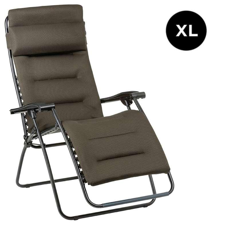 Lafuma RSX CLIP XL Air Comfort® Relaxliege Taupe Sonnenliege LFM2041.7057