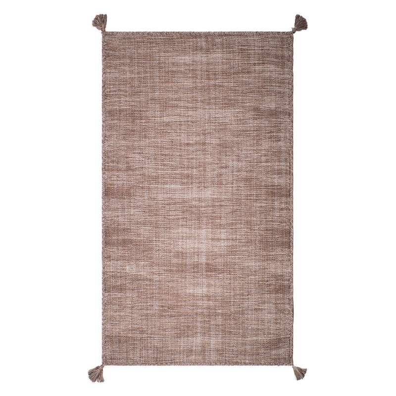 Fab Habitat Teppich Asana Sand aus recycelter Baumwolle sand 90x150 cm