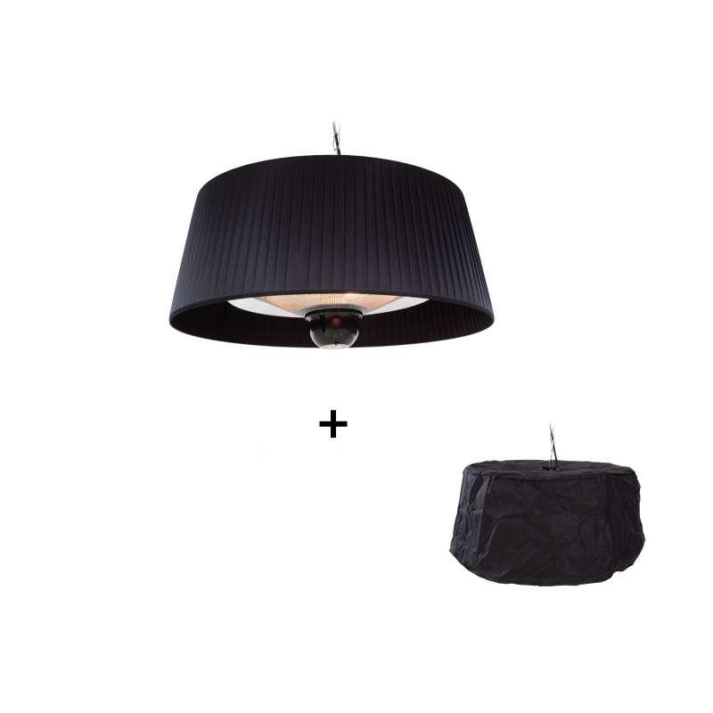 OutTrade Sunred Heater Artix Hanging Black 1800 Heizstrahler mit Hülle