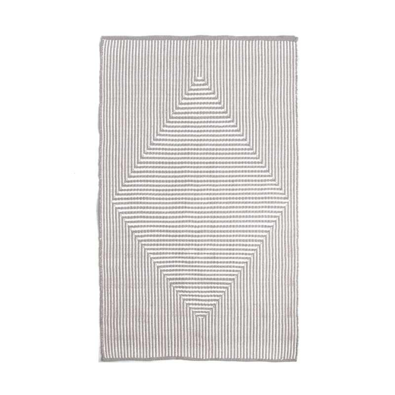 Fab Hab Outdoorteppich Denver Gray aus recycelten PET-Flaschen grau 240x300 cm
