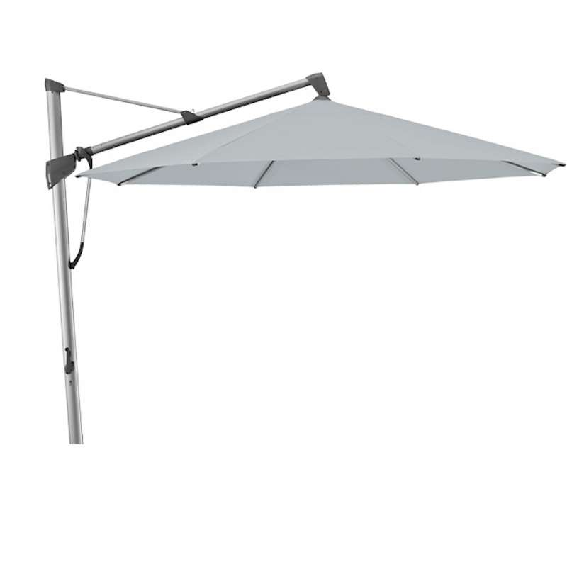 GLATZ Sonnenschirm SOMBRANO® S+ rund ø 350 cm Stoffklasse 5 Chrome 665