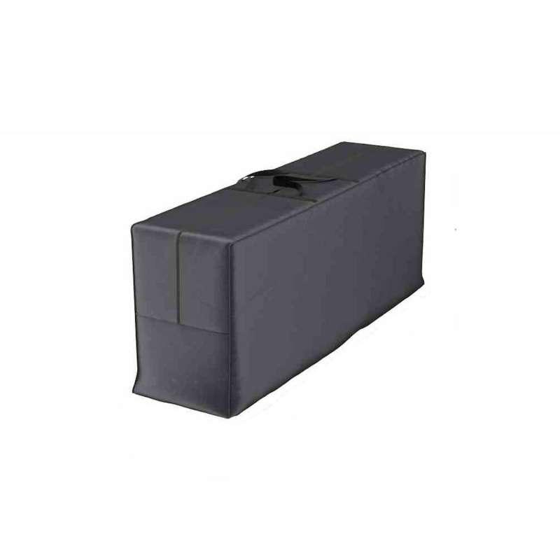 AeroCover Tragetasche Schutzhülle für Sitzkissen Gartenmöbel-Kissen 125x32x50 cm Auflagentasche