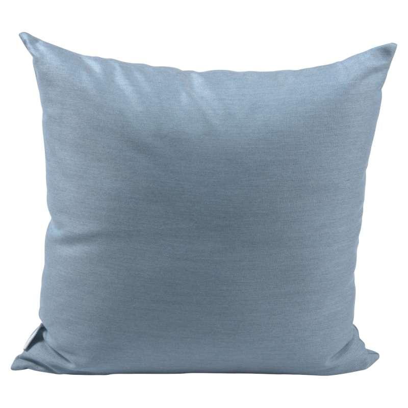 Stern Dekokissen Outdoorstoff hellblau uni 55x55 cm Gartenkissen Kuschelkissen