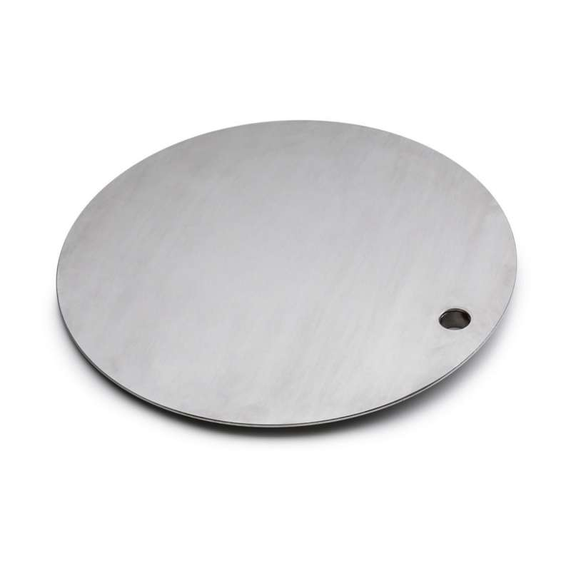 höfats schwenkbarer Tisch/heiße Platte für Feuerschale TRIPLE 90 Edelstahl Ø 35 cm Grill Lagerfeuer