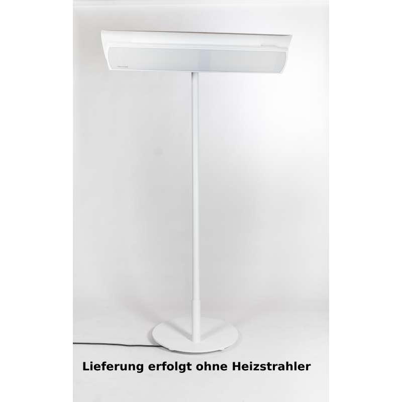 Heatscope Free Design-Ständer für Heizstrahler Farbe weiß für Vision 2200