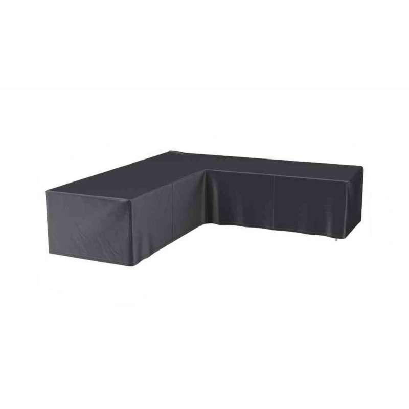 AeroCover Schutzhülle für L-förmige Lounge-Sets 220x220x90 cm Schutzhaube Sitzgruppe
