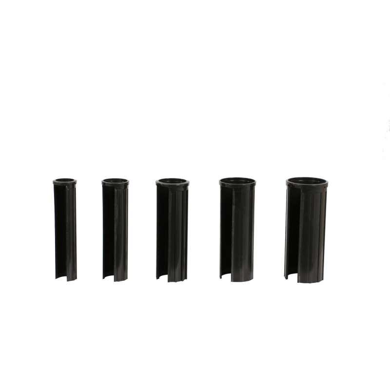 Doppler Reduzierringe 5 Größen für Sonnenschirm Adapter Schirmstock 52 / 48 / 38 / 32 / 25 mm schwar