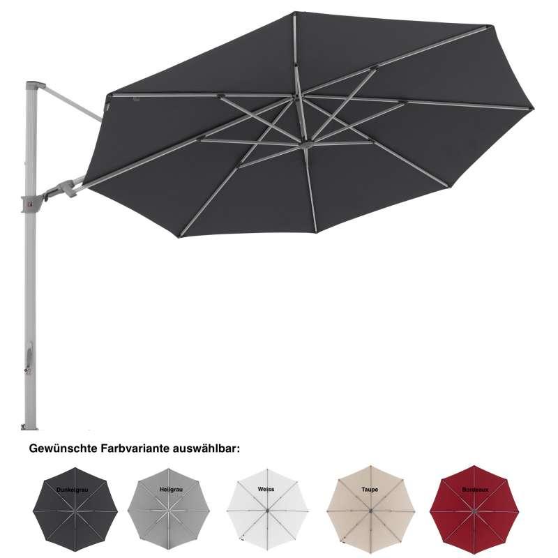 Knirps Pendular ø 340 cm rund Ampelschirm Sonnenschirm Pendelschirm 5 Farbvarianten