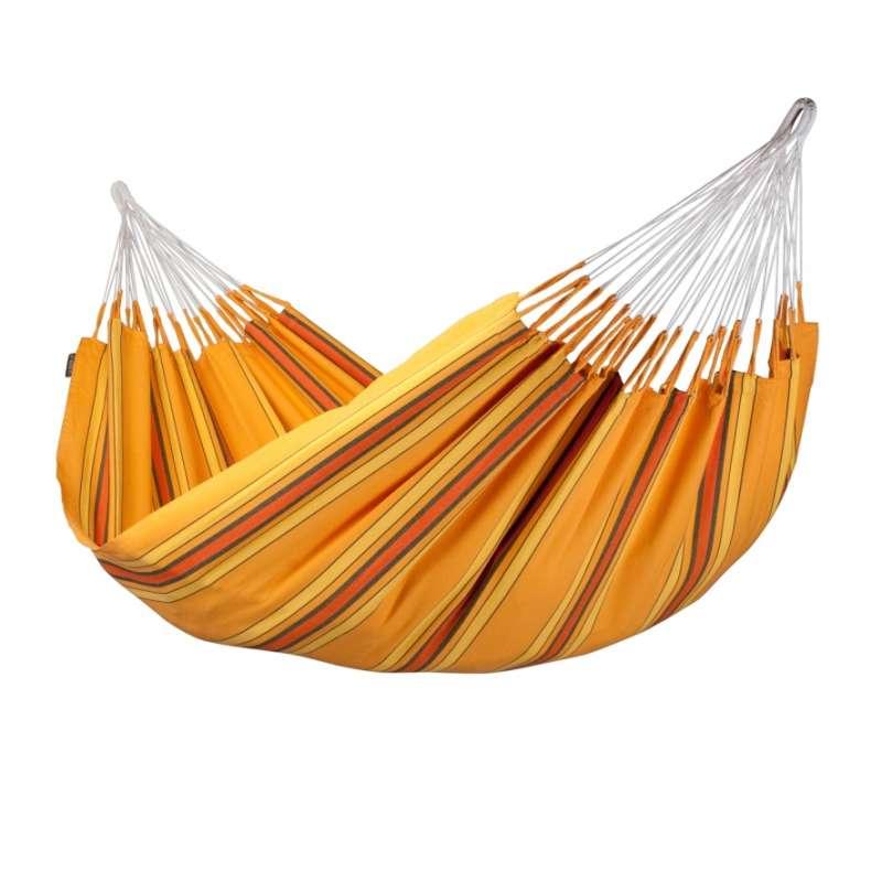 La Siesta Doppel-Hängematte CURRAMBERA apricot gelb Doppelhängematte CUH16-5 optional mit Gestell