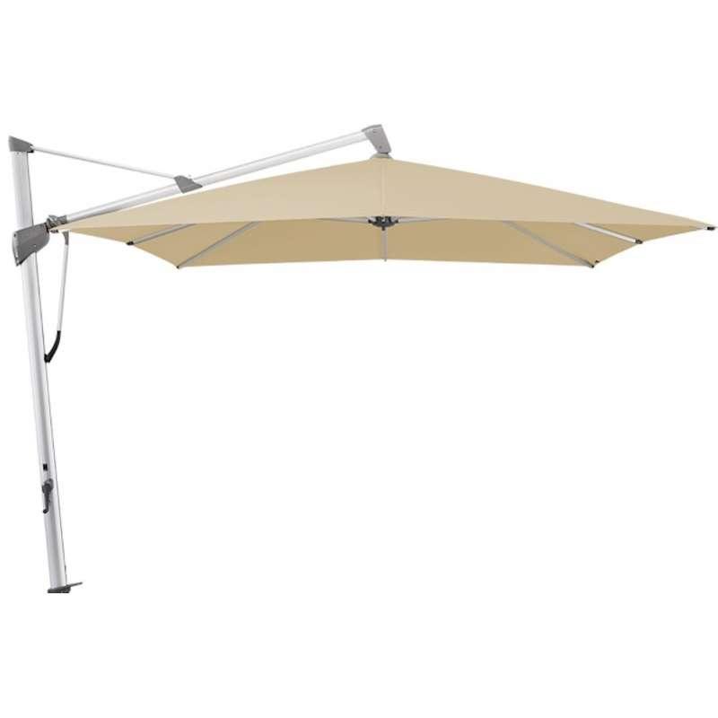 GLATZ Sonnenschirm SOMBRANO® S+ 400 x 300 cm Stoffklasse 4 Cream 422