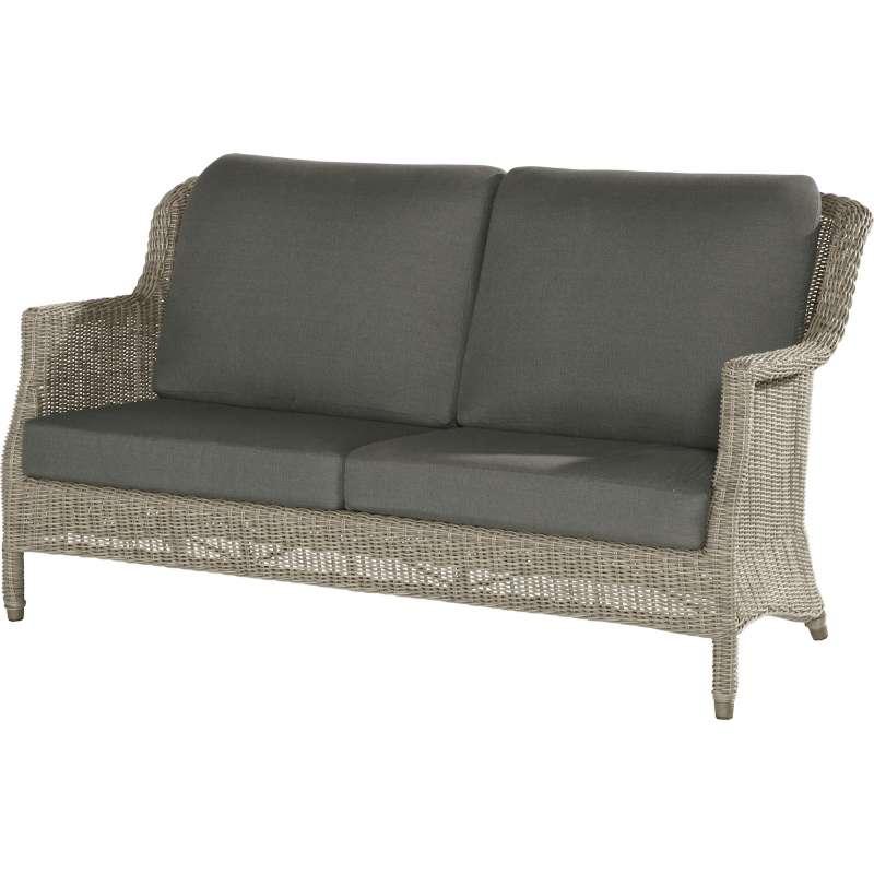 4seasons Outdoor Del Mar 25 Sitzer Sofa Polyrattan Pure Loungesofa