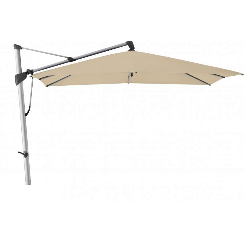GLATZ Sonnenschirm SOMBRANO® S+ 350 x 350 cm Stoffklasse 4 Cream 422