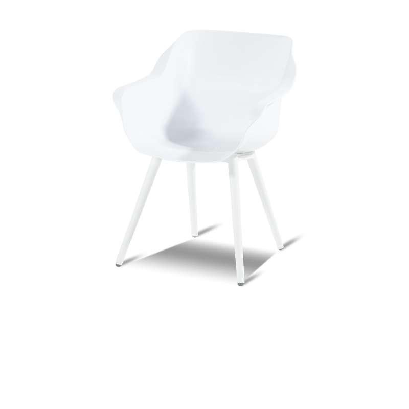 Hartman Sophie Studio armchair Aluminium White Gartensessel 11681003