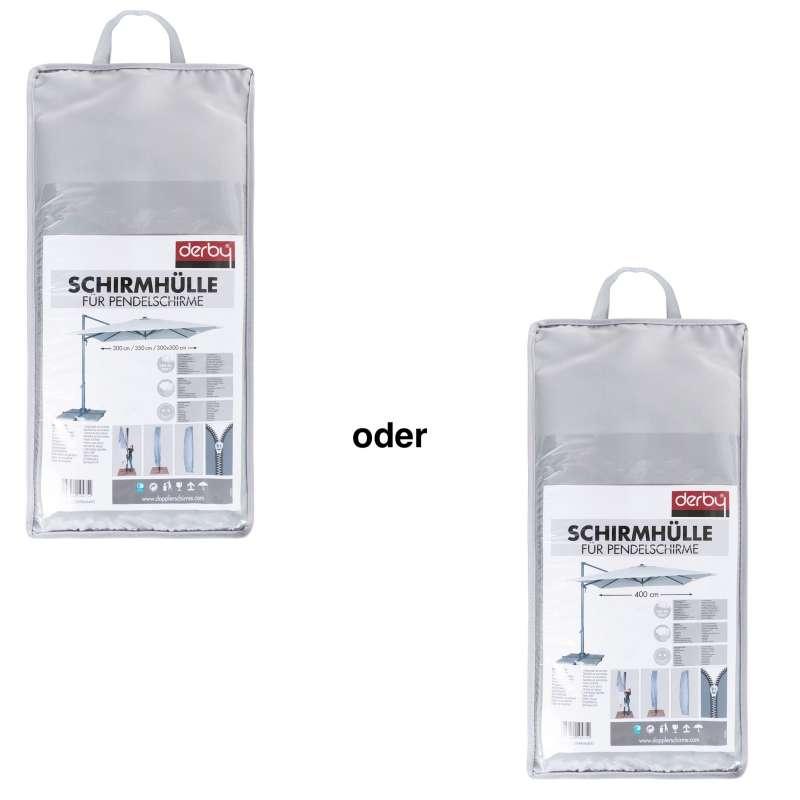Doppler Schutzhülle BASIC für Pendelschirme Ampelschirme ø 300 350 400 / 300 x 300 cm Haube
