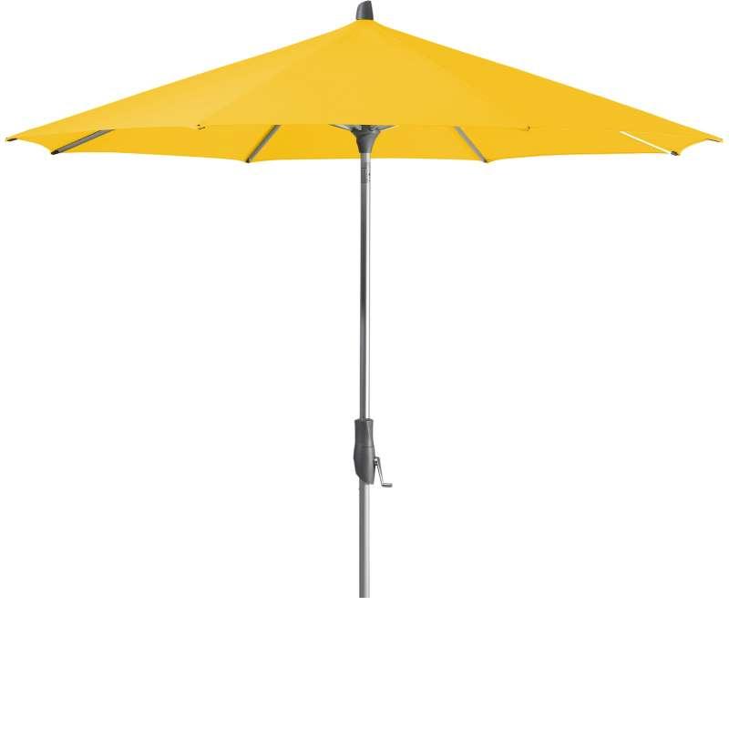 GLATZ Sonnenschirm ALU-TWIST easy rund ø 300 cm Stoffklasse 2 Bright Yellow 146