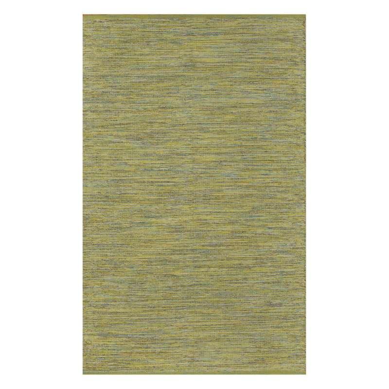 Fab Habitat Teppich Cancun Lemon&Apple Green aus recycelter Baumwolle grün/gelb 120x180cm