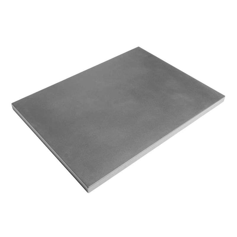 Happy Cocooning Mania Deckel grau für rechteckige Feuertische groß Schutzabdeckung 112,5x85,5x5 cm