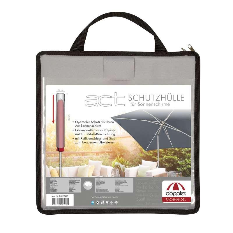 Doppler Schirmschutzhülle für Mittelmast alle ACT Modelle 182 x 30 cm Schutzhülle 85399ACT