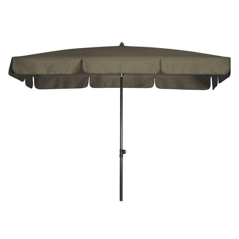 Doppler Sunline Waterproof 260 x 150 cm Sonnenschirm Greige Gartenschirm Sonnenschutz