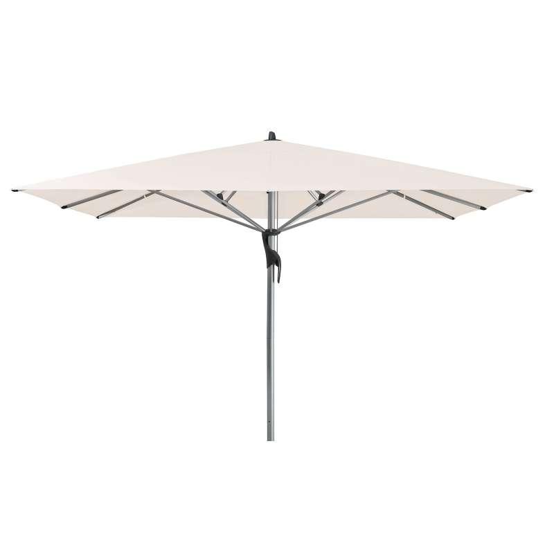 GLATZ Sonnenschirm FORTELLO® quadratisch 350 x 350 cm Stoffklasse 4 Vanilla 453