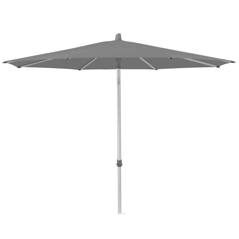 GLATZ Sonnenschirm ALU-SMART rund ø 200 cm Stoffklasse 4 Smoke 420
