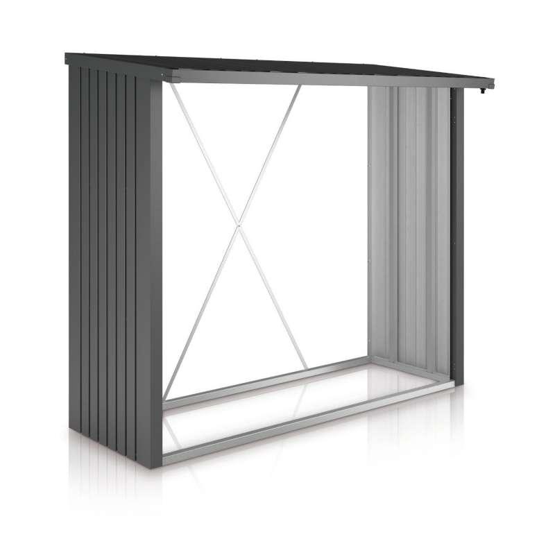 Biohort Kaminholzlager WoodStock® 230 Brennholzlager 229 x 102 x 199 cm in 3 Farbvarianten