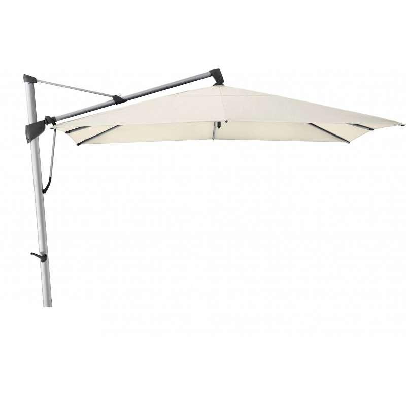 GLATZ Sonnenschirm SOMBRANO® S+ 350 x 350 cm Stoffklasse 4 Vanilla 453