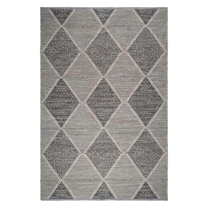 Fab Hab Outdoorteppich Hampton Gray aus recycelten PET-Flaschen grau 120x180 cm