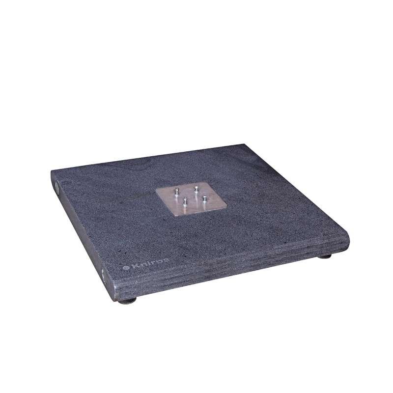KNIRPS Granitsockel 140 kg für Pendular 275 x 275 Sockel 80 x 80 cm Schirmständer