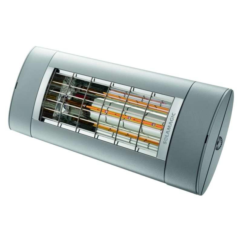 Solamagic Premium Infrarotstrahler S1+ mit Schalter 1400 W Heizstrahler Wand/Decke ultra low glare