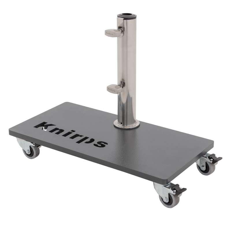 KNIRPS Balkon-Rollsockel Stahlsockel 25 kg Schirmständer Trolleysockel Balkonständer 85999