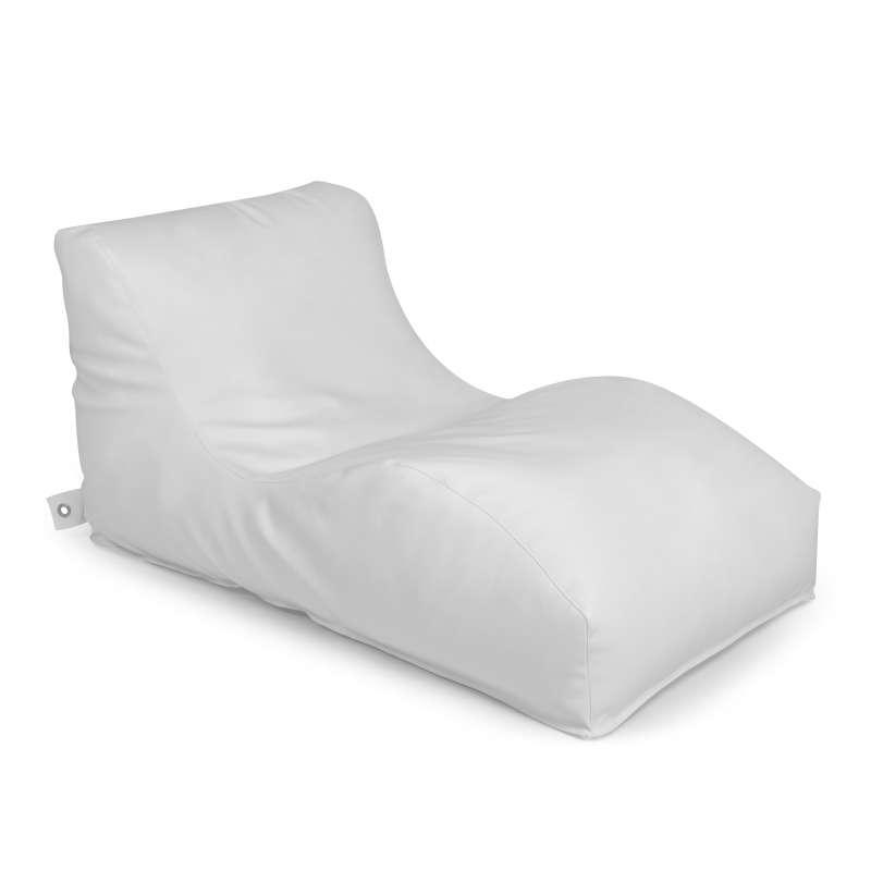 Outbag Wave Light weiß Sitzsack Outdoorkissen 70 x 125 x 65 cm Gartenliege Sessel