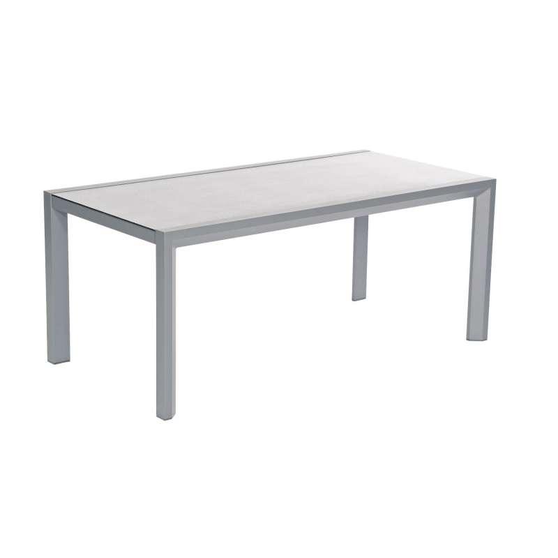 SunnySmart Gartentisch Rondo Aluminium anthrazit Tisch 180x90 cm
