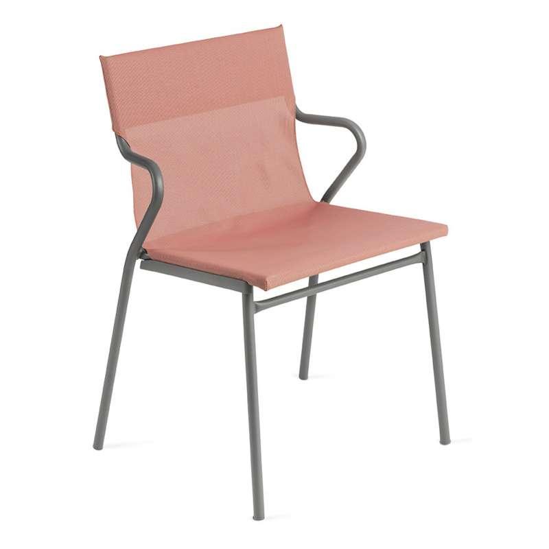 Lafuma Horizon Sessel Objektmöbel Loungestuhl Farbe Terre Cuite LFM9001-9078