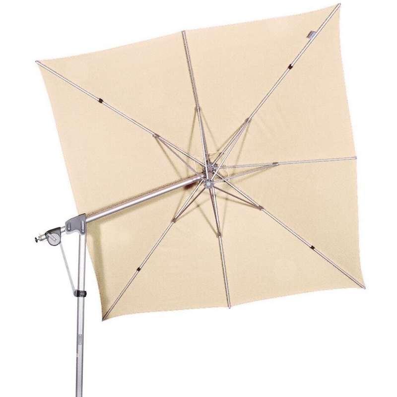 Doppler Protect Pendel 300 x 300 cm Sonnenschirm Natur 820 Pendelschirm Ampelschirm