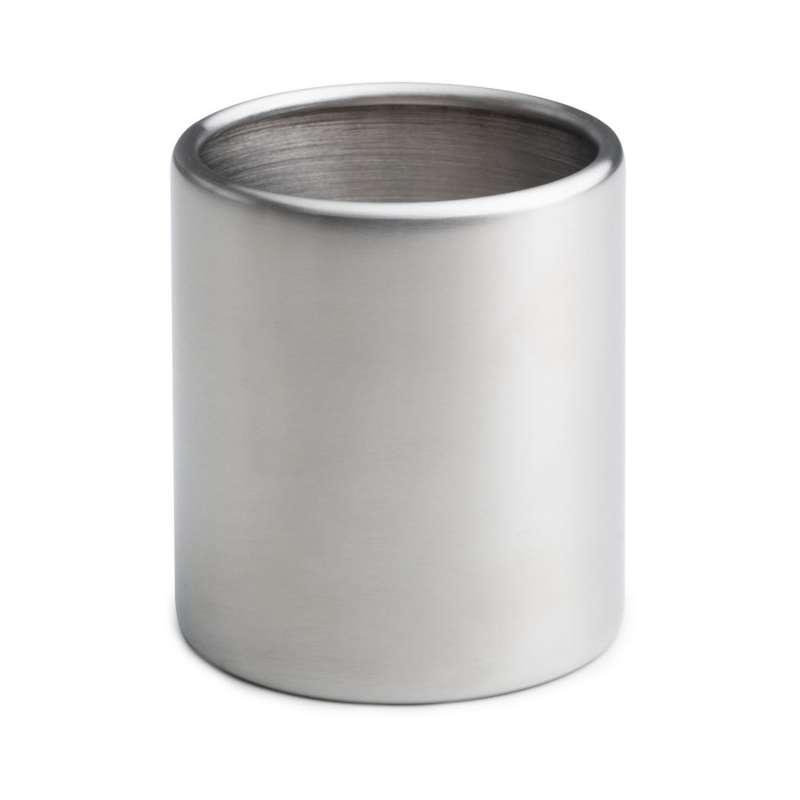 höfats Nachfülldose für Tischfeuer SPIN 120 Edelstahl für 500 mL Bioethanol