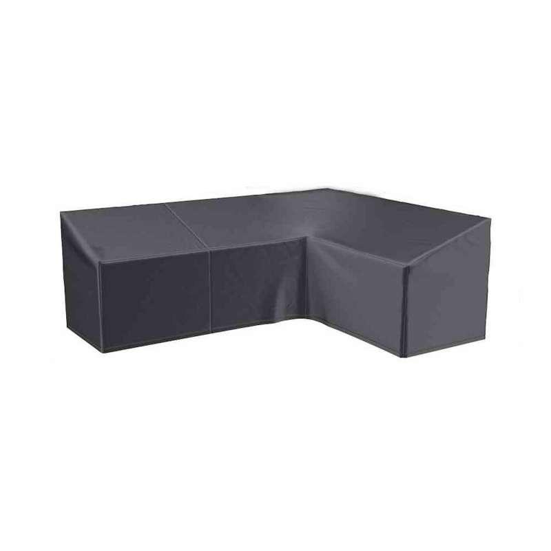 AeroCover Schutzhülle für L-förmige Lounge-Sets 270x210x85xH65/90 cm Schutzhaube Sitzgruppe