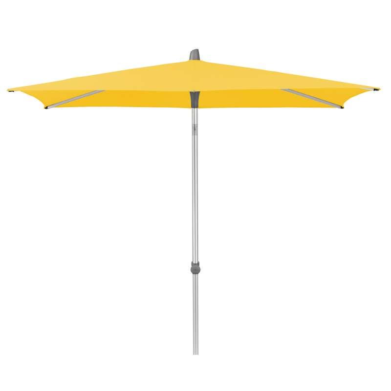 GLATZ Sonnenschirm ALU-SMART easy quadratisch 240 x 240 cm Stoffklasse 2 Bright Yellow 146