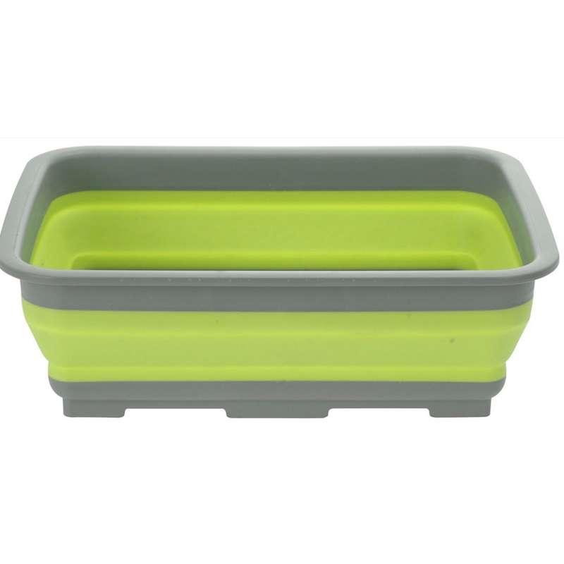 Spülschüssel Tischschüssel Campingschüssel klappbar faltbar Faltbox grün