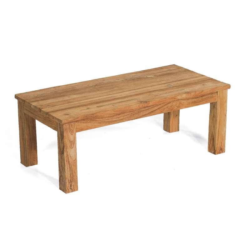 Sonnenpartner Loungetisch Charleston 120x60 cm Teakholz Old Teak Tisch Gartentisch