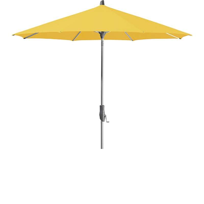 GLATZ Sonnenschirm ALU-TWIST easy rund ø 330 cm Stoffklasse 2 Bright Yellow 146