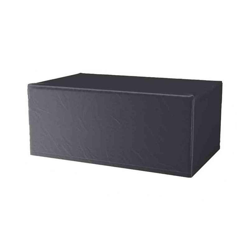 AeroCover Schutzhülle für Tische 200x110x70 cm Schutzhaube Gartentische Tischhülle