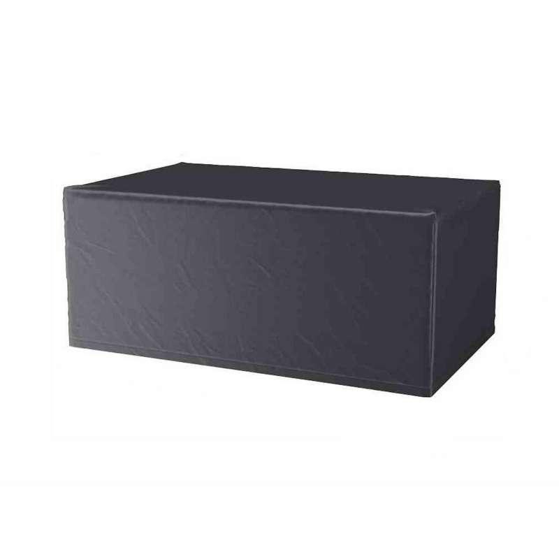 AeroCover Schutzhülle für Tische 220x110x70 cm Schutzhaube Gartentische Tischhülle