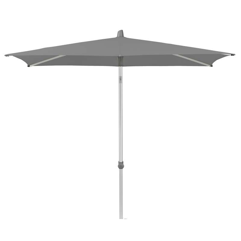 GLATZ Sonnenschirm ALU-SMART rechteckig 210 x 150 cm Stoffklasse 4 Smoke 420