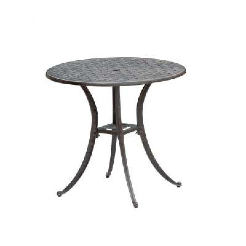 Inko Aluguss Tisch Nexus Bronze rund Ø 80 cm Gartentisch TAG 280-B