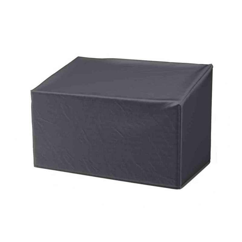 AeroCover Schutzhülle für Gartenbänke 130x75xH65/85 cm Schutzhaube Gartenbank Bankabdeckung