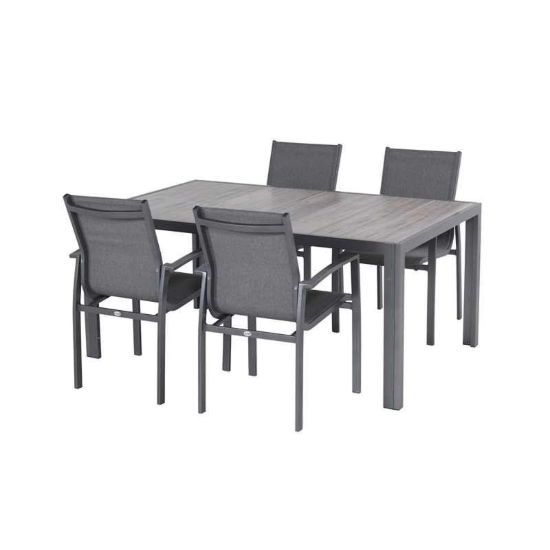 Hartman Sitzgruppe Tanger Canterbury Set 5 Teilig Tischgruppe