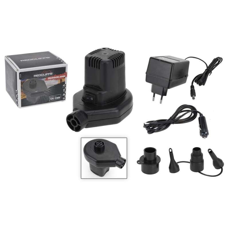 Luftpumpe elektrisch 12V / 230V Pumpe Campingluftpumpe Universalluftpumpe