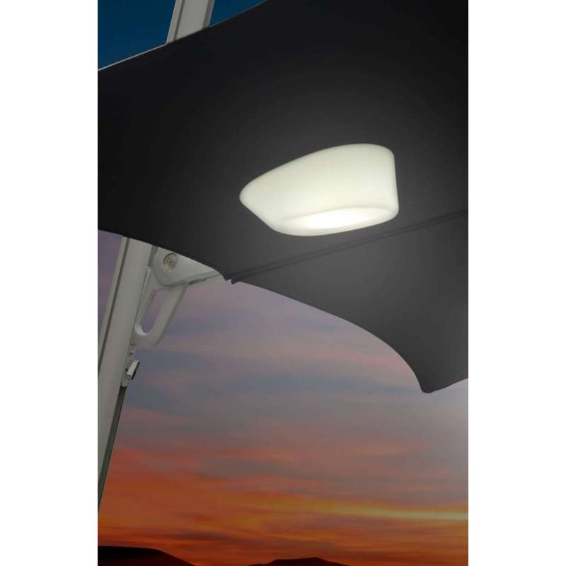 Umbrosa Sonnenschirmlicht Etna Licht LED Lampe wasserfest